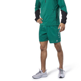 Shorts de 18 cm aprox. Running Essentials Clover Green EC2563