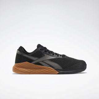 Nano 9.0 Shoes Black / True Grey 7 / Reebok Rubber Gum-03 EG4422
