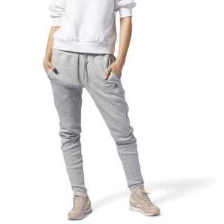 Quik Cotton Jogger Medium Grey Heather CY3311