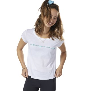 LES MILLS® Graphic Tee White ED0604