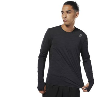 Running ACTIVCHILL Long Sleeve Tee Black CY4651