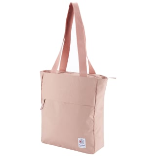 Classic Zippered Tote Chalk Pink CD6557
