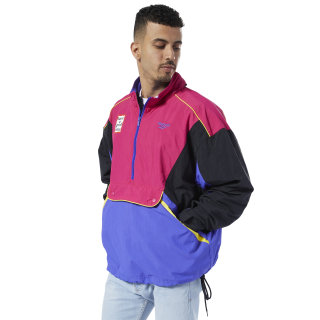Classics Vector Have a Good Time Anorak Black / Pink Craze / Ultima Purple ED4088