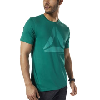 Graphic Series One Series Training Shift Blur Tee Clover Green EC2086