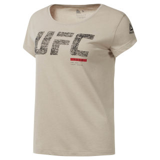 UFC Fight Gear Fight Week Tee Parchment D94705