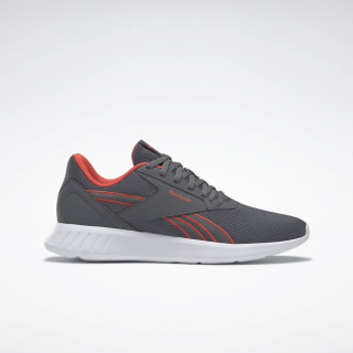 Reebok Lite 2.0 Shoes Cold Grey 6 / White / Vivid Orange EH2692