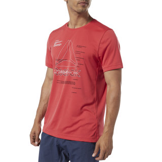 T-shirt Workout Ready Graphic Rebel Red EJ6333