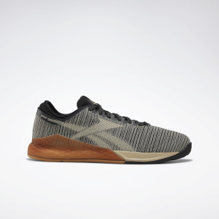 Zapatillas Nano 9.0 Black / Light Sand / Reebok Rubber Gum-03 DV6359
