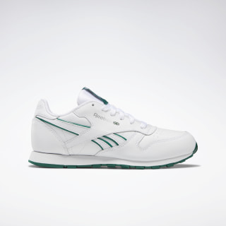 Classic Leather Shoes Clover Green / White DV8998