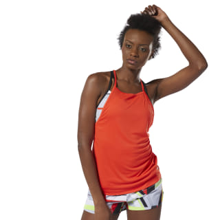 WOR Meet You There Tank Top Canton Red DU4839