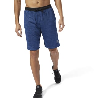Workout Ready Knitted Shorts Bunker Blue D94265