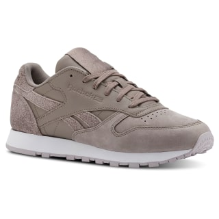 Classic Leather Prm-Sandy Taupe / Lavender Luck / White CN2961