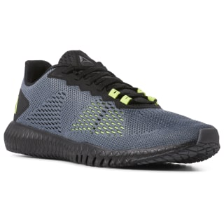 Reebok Flexagon Cold Grey / Black / Neon Lime DV5229