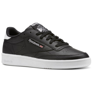 Reebok Club C 85 Emboss Black / White BS9529