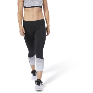 Reebok CrossFit® Lux Fade 3/4 Tights Black DU5089