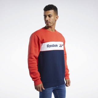 Свитшот Classics Linear Crew Multicolor/radiant red/collegiate navy FJ3347