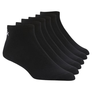 6 pares de calcetines piqui Active Core Black D94482