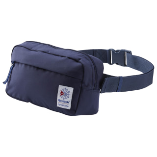 Classic Throwback Zippered Waistbag Collegiate Navy CD6552
