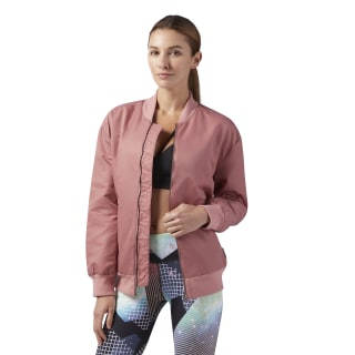 Studio Favorites Bomber Jacket Sandy Rose BR8983