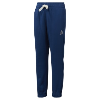 Boys Elements French Terry Pant Bunker Blue DM5154