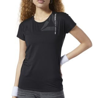 ACTIVCHILL Graphic Tee Black EC1184