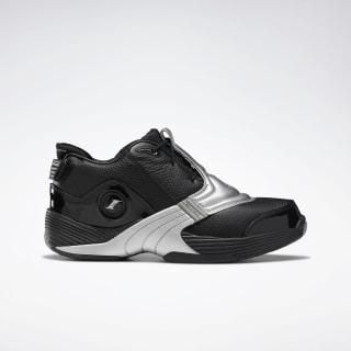 Answer V Basketball Shoes Black / Matte Silver / None DV6960