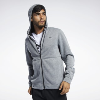 Buzo con capucha Workout Ready Medium Grey Heather FP6634