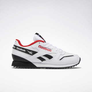 Classic Leather Ripple ATI 90s Women's Shoes White / Black / Primal Red EG5223