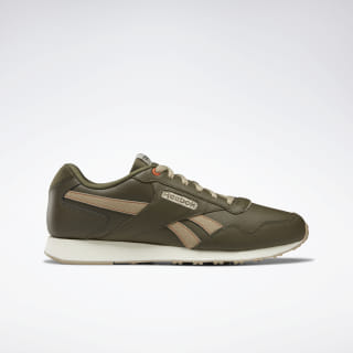 Reebok Royal Glide LX Army Green / Neu / Orange / Chalk DV9115