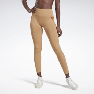 VB Seamless Tights Vb Beige Stone / Vb Desert Brown GE5580
