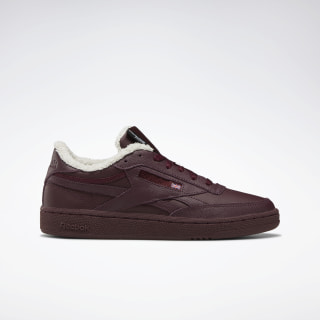 Кроссовки Reebok Club C Revenge Burgundy/maroon/chalk/NONE FU7772