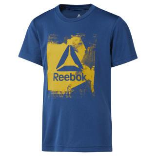 Boys Workout Ready Tee Bunker Blue DH4378