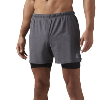 Short de Training 2 en 1 BLACK CF8782
