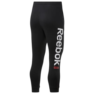 Training Essentials Logo Jogger Pants Black EJ9868
