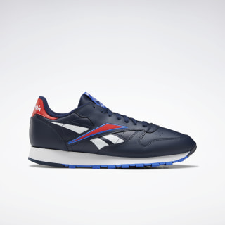Tênis Classic Leather Collegiate Navy / Radiant Red / White EG6421