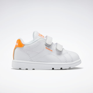 Reebok Royal Complete Clean Alt 2.0 Shoes White / Solar Orange / None FU7146