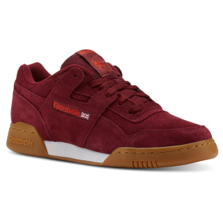 Workout Plus MU Spg / Collegiate Burgundy / Carotene / White CN5196