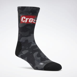 Reebok CrossFit® Printed Crew Socks Black EC5720