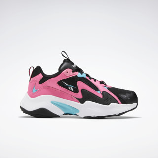 Reebok Royal Turbo Impulse 2.0 Black / Solar Pink / Neon Blue FV2793