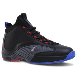 Reebok Answer IV.V BLACK / ASH GREY / RED / BLUE CN5841