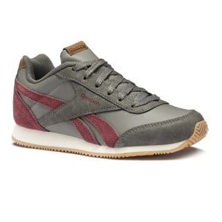 Tenis REEBOK ROYAL CLJOG 2 OUTDOOR/GRAPHITE/TRIATH RED/CREAM WHT/GUM CN4818