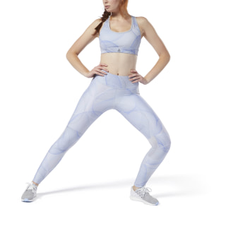 Legging de running Cold Grey / Crushed Cobalt DW9131