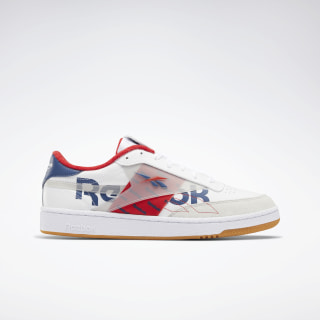 Club C 85 Shoes White / Vital Blue / Primal Red EH0137