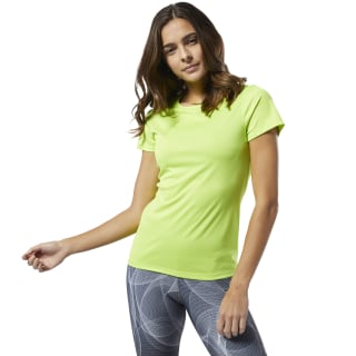Camiseta F Re Ss neon lime DU4204