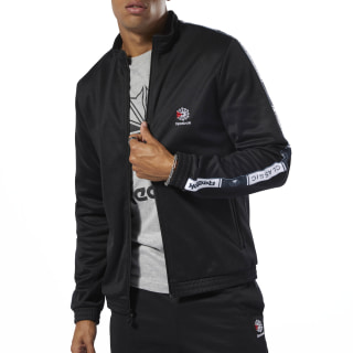 Classics Taped Track Top Black DT8150