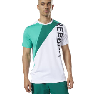 T-shirt One Series Training Colorblock White EC0993