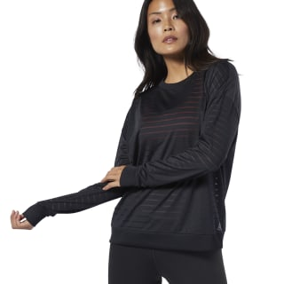 Studio Mesh Long Sleeve Tee Black DY8203