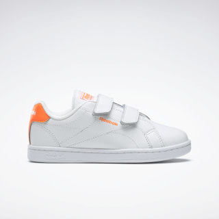 Reebok Royal Complete Clean Alt 2.0 Shoes White / Solar Orange / White EH1579