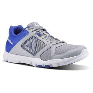 Yourflex Train 10 MT STARK GREY/ACID BLUE/WHITE CN1642