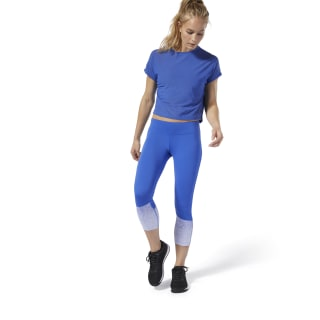 Reebok CrossFit® Lux Fade 3/4 Tights Crushed Cobalt DQ0028